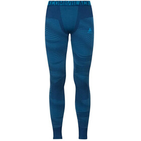 Odlo Suw Performance Blackcomb Bottom Pants Men poseidon-blue jewel-atomic blue